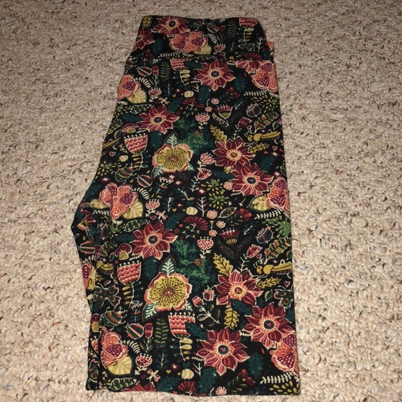 1d4b25ec9900c LuLaRoe Pants | 2 For 20os Floral Leggings | Poshmark